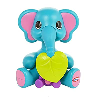 Little Tikes Fantastic Firsts Peeky Pals Elephant Press & Spin, Multicolor (648830E7C)