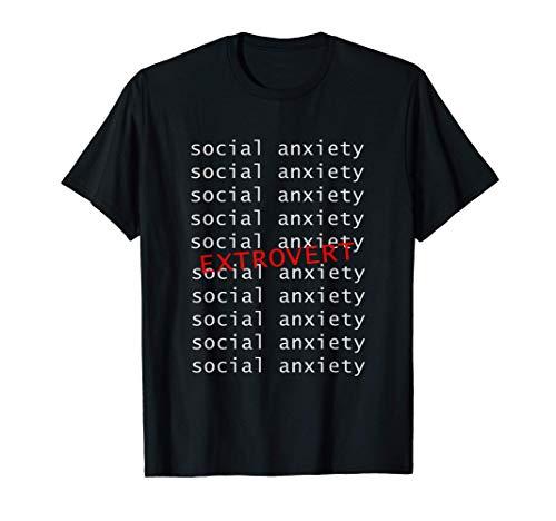 社会的パーソナリティタイプ 外向的 外向的 内向的 Tシャツ