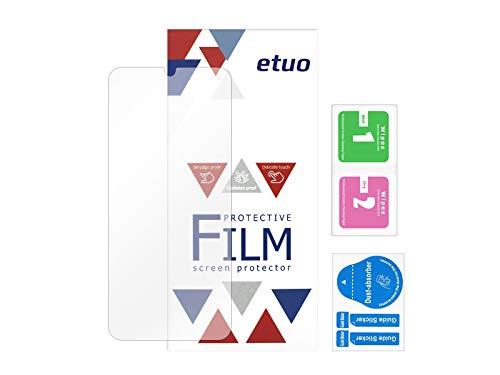 etuo Bildschirmschutzfolie für Vivo Y70 - Bildschirmschutzfolie Bildschirmschutzfolie 3H Folie Schutzfolie Bildschirm Display Schutz