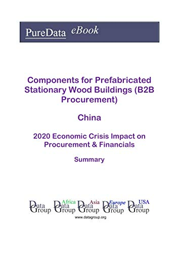 Components for Prefabricated Stationary Wood Buildings (B2B Procurement) China Summary: 2020 Economic Crisis Impact on Revenues & Financials (English Edition)