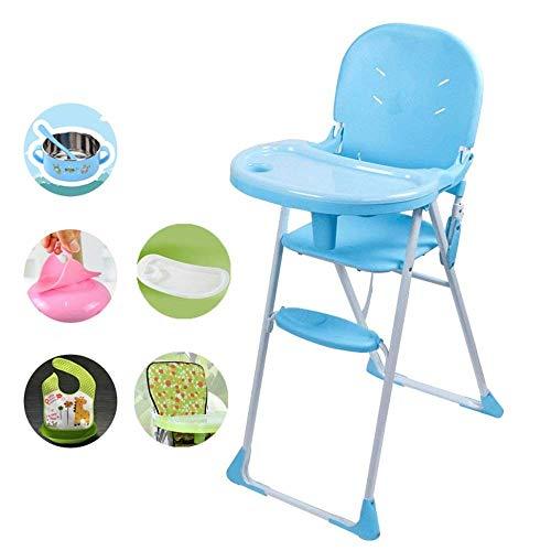 WYJW Kinder-Esszimmerstuhl Klappbarer Baby-Baby-Multifunktions-Esstisch Stuhl Tragbarer IKEA-Lernsitz zum Essen Stuhl Kinder-Klappstuhl