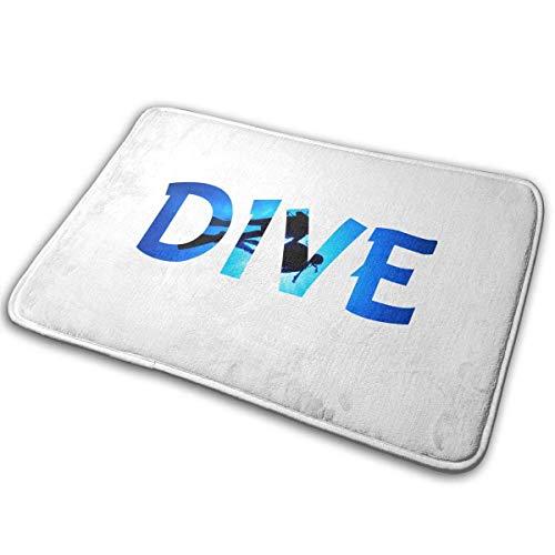 TEIJWETEIJT - Felpudo para buceo, absorbente, absorbente, alfombra