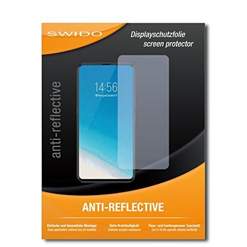 SWIDO Schutzfolie für Vivo NEX S [2 Stück] Anti-Reflex MATT Entspiegelnd, Hoher Festigkeitgrad, Schutz vor Kratzer/Bildschirmschutz, Bildschirmschutzfolie, Panzerglas-Folie