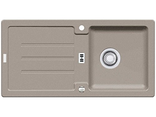 Franke Strata STG 614Cashmere fregadero de granito fregadero de gris–Fregadero