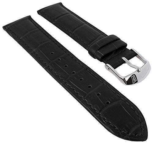 Festina Uhrenarmband Casual Armband-Material Leder schwarz für Festina F16823, F16822 Uhren