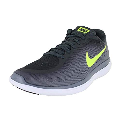 Nike Kids Flex 2017 RN (GS) Anth Volt-Cool Grey Black Size 7