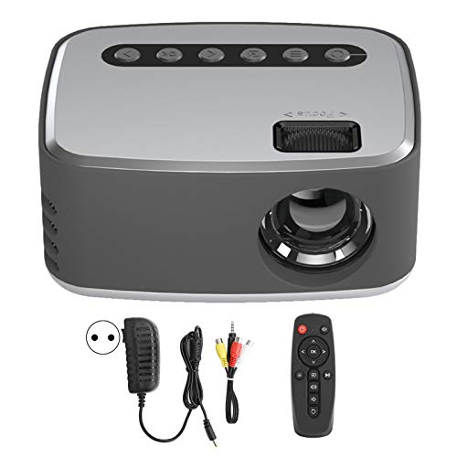 T20 HD 1920 * 1080 Mini Home Theater Proyector de video LED portátil 1080P HDMI USB Audio(European plug)