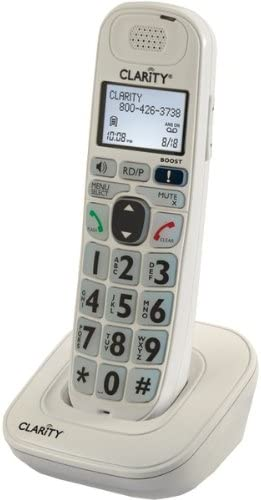 Clarity 52702.000 Expandable Handset For D702, D712 & D722 Amplified Cordless Phones