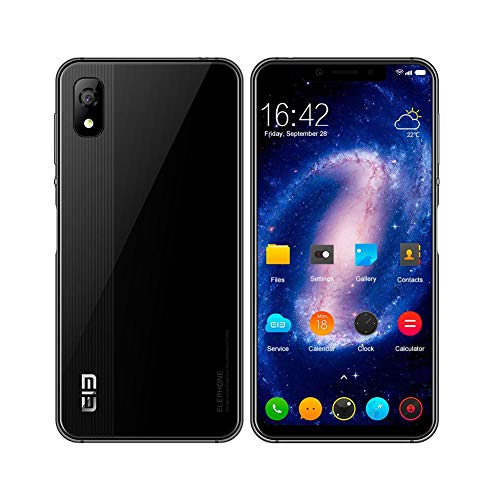 Smartphone 4G Elephone A4 5.85 pollici 19:9 Schermo Android 8.1 Quad Core 1.5GHz 3G RAM 16G ROM Face...