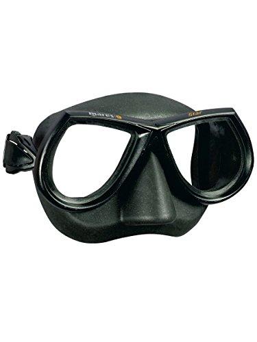 Mares Erwachsene Mask Star Taucherbrille, Negro
