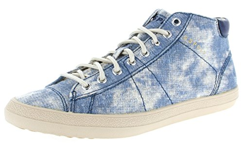 ESPRIT, 036EK1W061, Damen hohe Sneaker, Miana Bootie, blau(415) (37, blau)