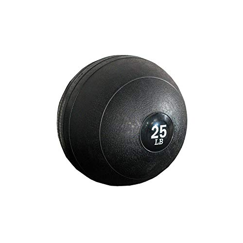 Titan Fitness Slam Spike Ball, Rubber Exercise Equipment, 25 lb. Gym Weight