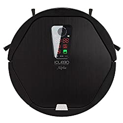 iClebo Alpha Robot Vacuum Self-Cleans with Advanced Navigation Remote Control Camera-