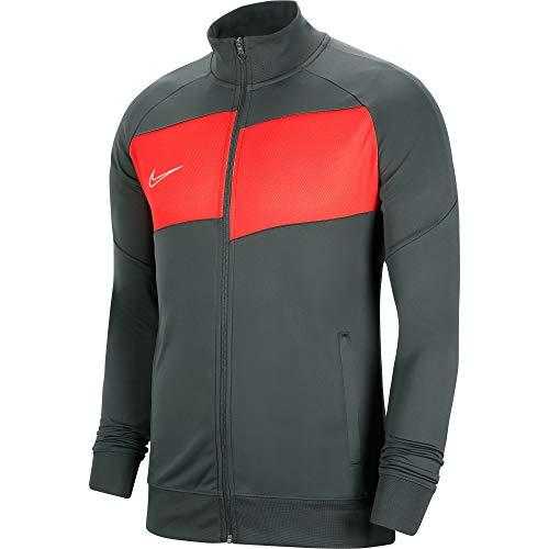 Nike Kinder Academy Pro Knit Jacket Trainingsjacke, Anthracite/Bright Crimson/(White), XS