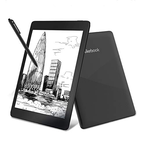 Likebook Ares-Note Smart Paper Tablet E-Reader with 7.8''300ppi E-Ink Touchscreen 8 Core 1.5GHz, Built-in Audible, 32GB Storage Expandable up to 128GB Android System 6.0
