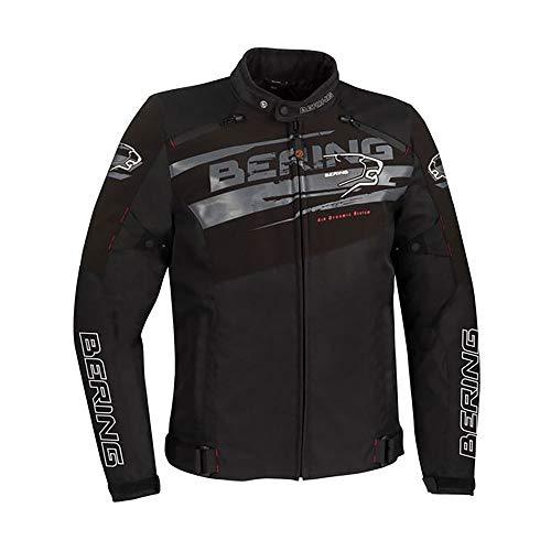 BERING Vikos Motorradjacke, Schwarz, Grau, XL