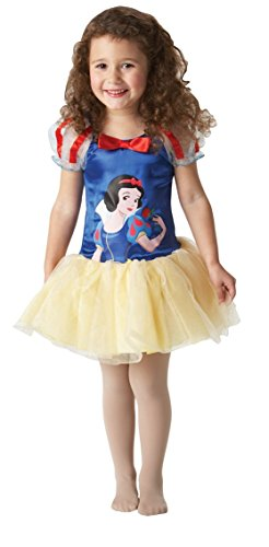 Rubie's-déguisement officiel - Disney- Déguisement Costume Ballerine BlancheNeige -Taille INF- I-884652INF