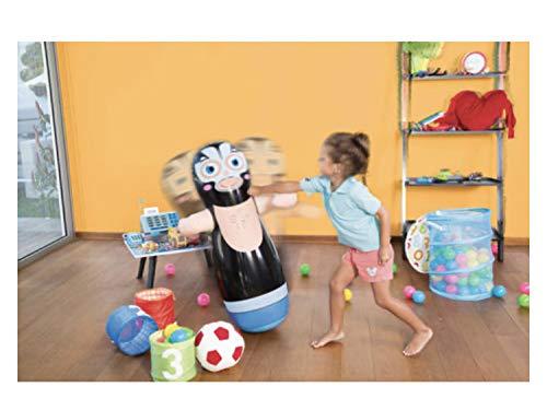Bestway - Saco de boxeo hinchable para niños, color negro