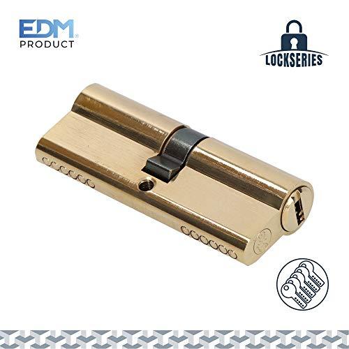 EDM pomp, messing, 40 + 40 mm, in totaal 80 mm, met 5 beveiligingssleutels.