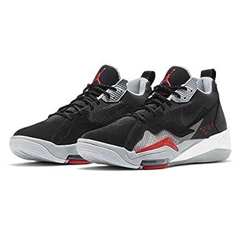Air Jordan Men s Zoom 92 Basketball Sneakers  Black/Red Numeric_10