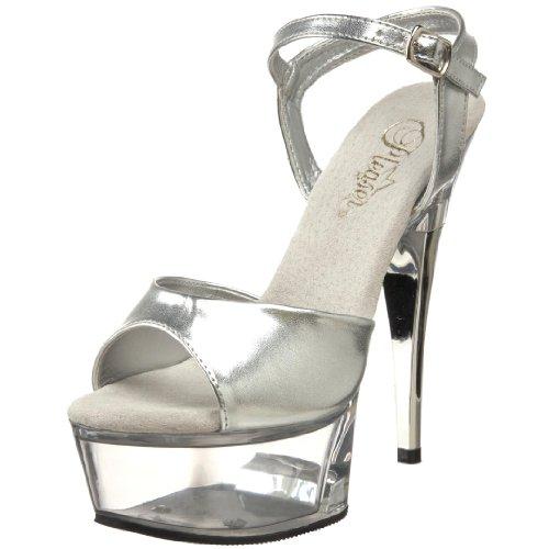 Pleaser Captiva-609 - Sexy Plataforma Zapatos de tacón Alto Mujer Sandalias - tamaño 35-44, US-Damen:EU-39 / US-9 / UK-6
