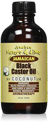Jamaican Mango & Lime Black Castor Oil Coconut 4oz