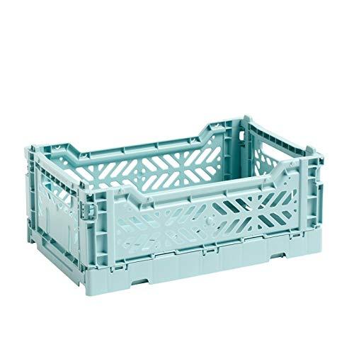Colour Crate Korb S, arctic blue Polypropylen faltbar stapelbar LxBxH 26,5x17x10,5cm