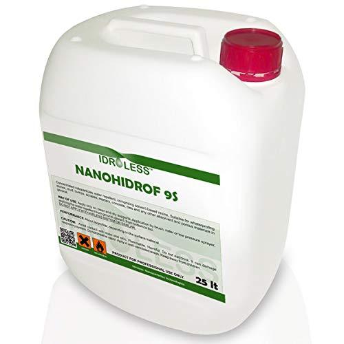 Hidrófugo para Fachadas Nanohidrof-9S de Idroless - 25 Ltr