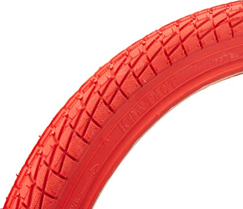 Sunlite Freestyle BMX Kontact Tires, 20 x 1.95, Red/Red by Sunlite