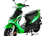 TAO SMART DEALSNOW Brings Brand New 50cc Gas Fully Automatic Street Legal Scooter TaoTao ATM50-A1 with MATCHING TRUNK - EMERALD GREEN