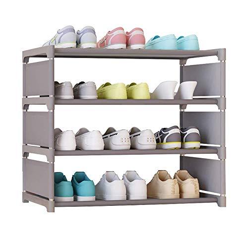 KAYBELE Zapato Sencilla Gabinete de Sexo Masculino y Femenino de los Estudios Dormitorio Cama Simple de múltiples Capas de Almacenamiento en Rack Rack de Zapatos