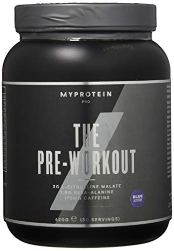 MyProtein Mypre Pre-Workout Blue Raspberry / Blaue Himbeere, 420g