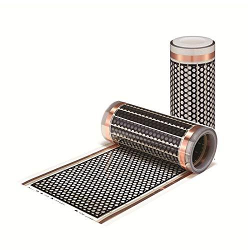 0,3x1,5m elektro Fußbodenheizung Infrarotheizung elektrisch Flächenheizung