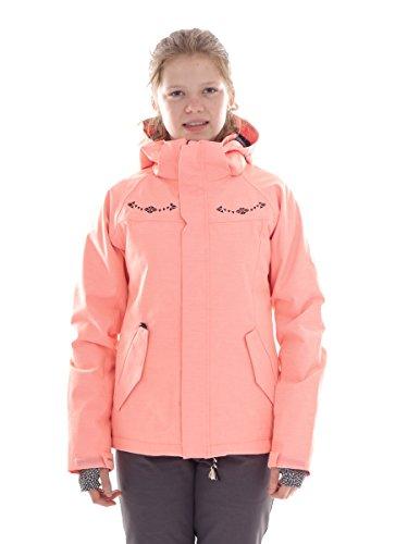 Brunotti Skijacke Snowboardjacke Winterjacke rosa Pluto atmungsaktiv (152)