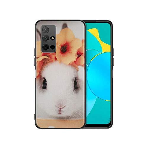 Lindo conejo conejo para Huawei Honor 20S 20 10X Lite 30i 30S Y8P Y7P Y6P Y5P Y7A Y9A Y8S Y6S Y7 Y5 Y6 Pro Funda de teléfono estilo 06-Huawei Y5P