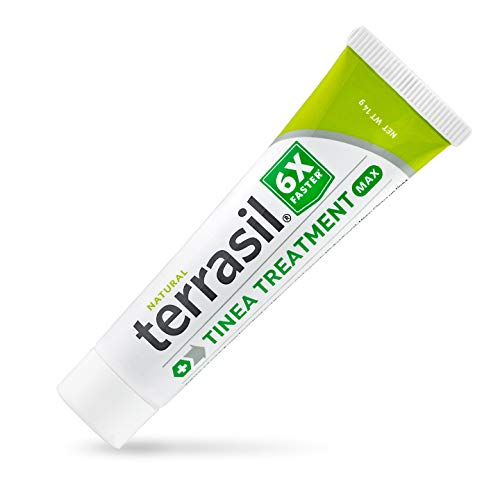 terrasil Tinea Treatment MAX - 6X Faster Relief, Patented Natural Therapeutic Anti-fungal Ointment for Tinea Relieves itching, Discoloration, Irritation, discomfort - 14gm