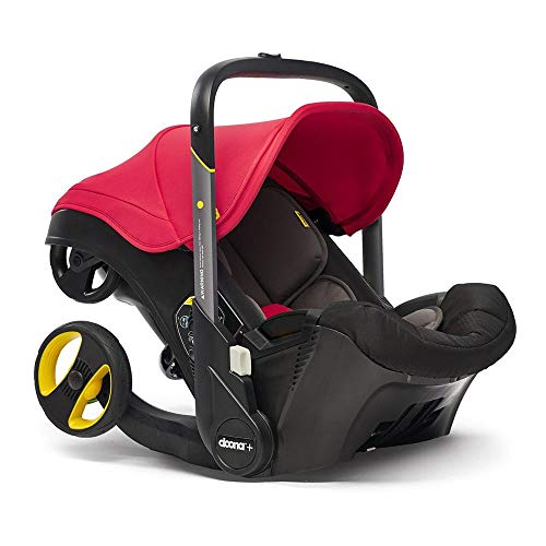 Doona Infant Car Seat & Latch Base - Flame Red - US Version