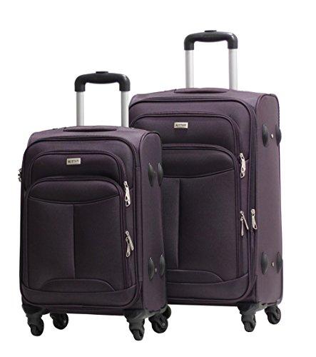 Alistair - Juego de maletas  adultos unisex morado violeta SM