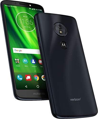 Verizon Prepaid Motorola Moto G6 Play 16GB No-Contract Smartphone, Deep Indigo Color - Locked to Verizon Wireless, Optional 16/64/128GB Expandable Storage WeeklyReviewer