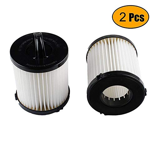 Podoy DCF-21 Vacuum Filter for Compatible with Eureka AS1000 EF91B 67821 68931 68931A EF91 EF-91 EF-91B Airspeed Washable Reusable Vacuum Filter Cup Filter Replacement 3271AVZ 3271BLU (Pack of 2)