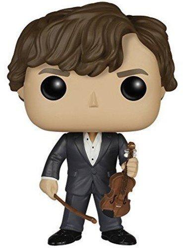 Sherlock SherlockFigur Holmes mit Violine