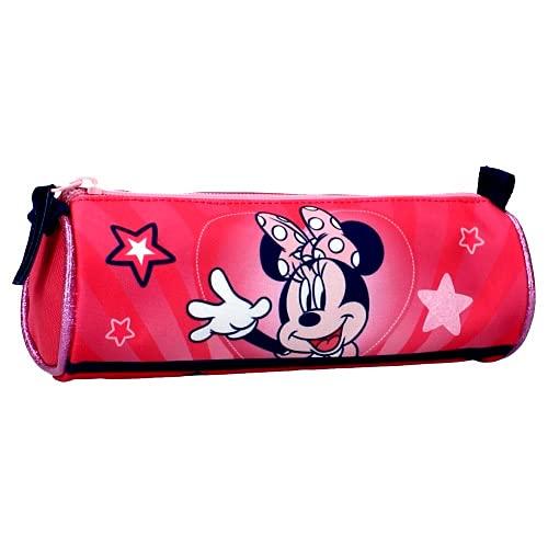 Astuccio Porta Penne Disney Minnie Mouse Rosa 17 x 7 x 7 cm