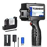 YUANDAO Handheld Inkjet Printer Smart Portable Quick-Drying Inkjet Printer with 4.3 Inch...