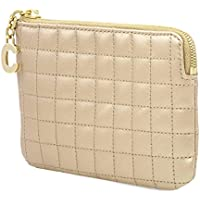 Celine C Charm Quilted Calfskin Card and Coin Case
