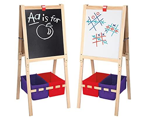 Cra-Z-Art 3-in-1 Smartest Artist Standing Easel Chalk Board/ Dry Erase Board w/ Storage $25 + Free Shipping w/ Amazon Prime