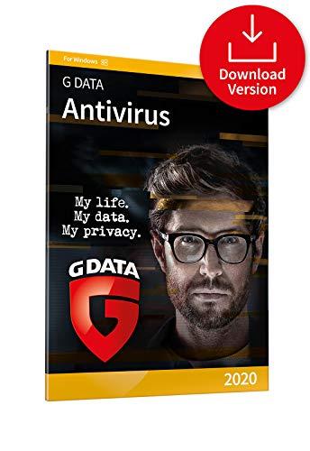 G DATA Antivirus 2020   1 PC - 1 Year  Antivirus Protection Software for Windows 10, 8, 7   Download Code