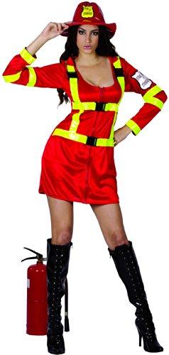 generique Costume pompiere donna M