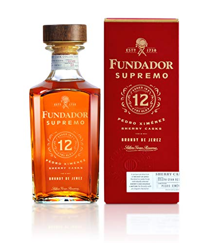 Brandy Fundador Supremo 12 Años - 700 ml