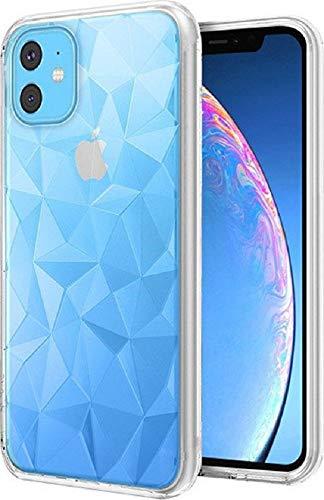Morando Schutzhülle für iPhone 11 Pro Max (6.8), Pollyanna Prism Case, stoßfest, rutschfest, aus TPU-Gummi mit 3D-Prismen für originelle Reflexionen