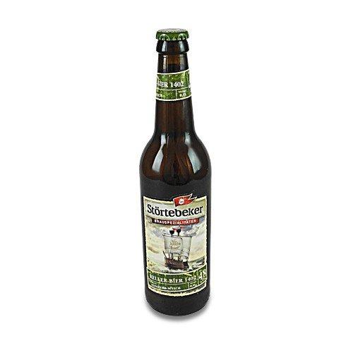 Störtebeker BIO Keller Bier 1402 (0,5 l / 4,8 % vol.)